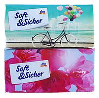 DenkMit носовые платочки бумажные Soft&Sicher (10 шт) Германия