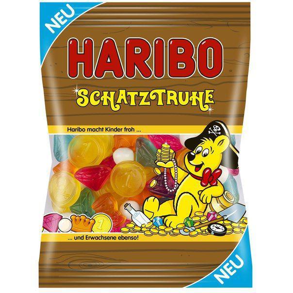 Желейные конфеты Haribo Schatzruhe