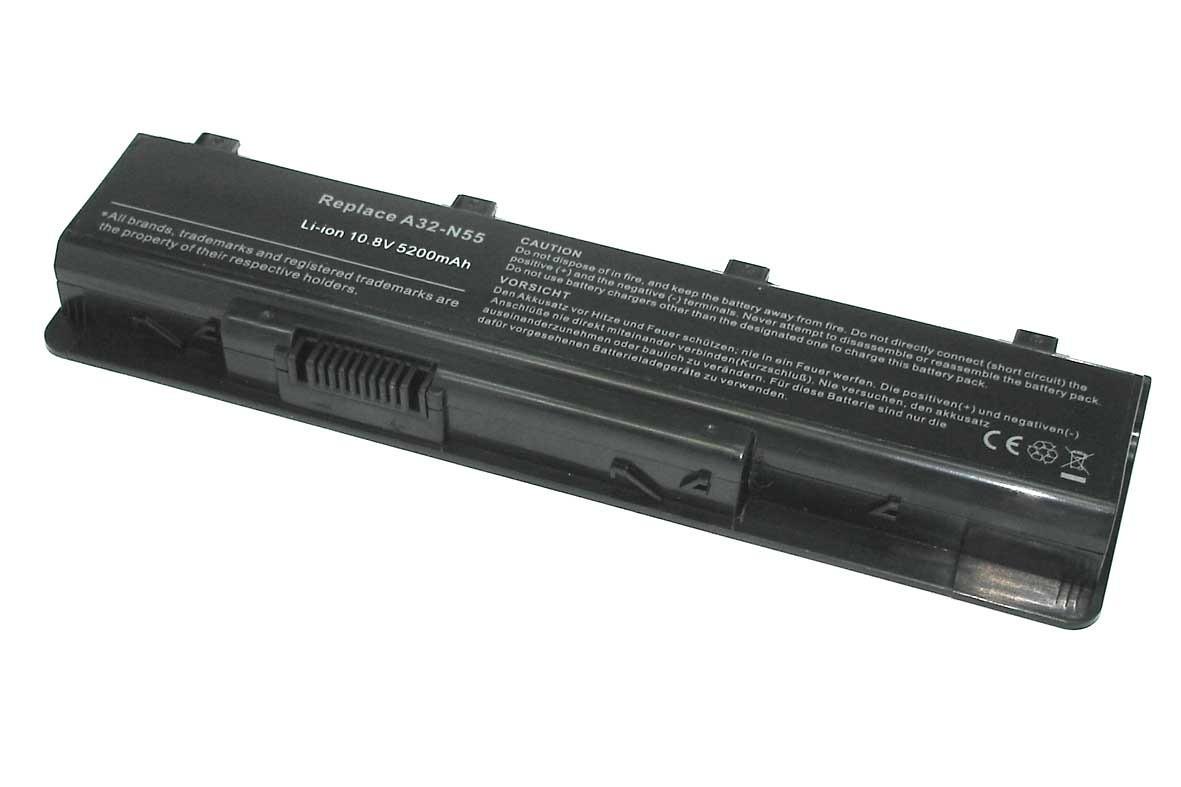 Батарея (аккумулятор) ASUS N75SJ (10.8V 5200mAh)