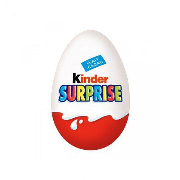 Яйцо из сюрпризом Kinder Surprise