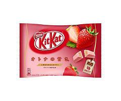 Шоколадные батончики Kit Kat Клубника