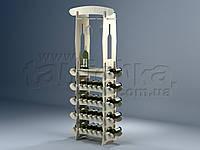 Підлогові стелажі для пляшок вина Тореро