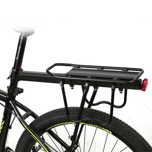 Багажник велосипедный консольный алюминиевый