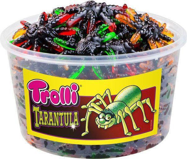 Жевательные конфеты Trolli Tarantula 800 g