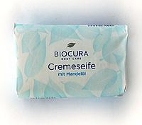 Мыло Biocura mit mandelol c миндальным маслом  150 g