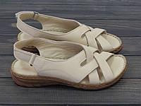 Комфортные кожаные босоножки на мягкой подошве, фото 1