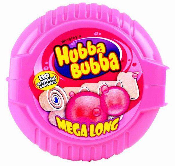 Жвачка Hubba Bubba Pink (баблгам)