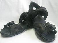 Мужские кожаные спортивные сандалии