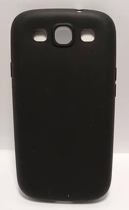 Силиконовый чехол High Quality Protection Samsung S3 черный, фото 2