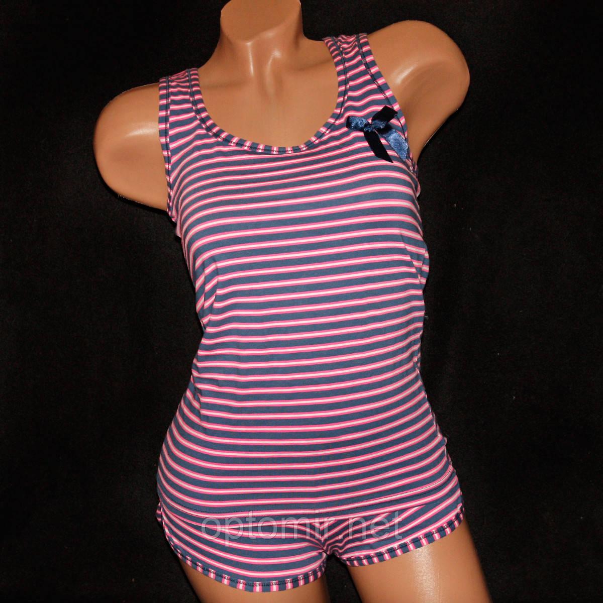 Комплект женский майка и шорты Pink Secret 4130-2