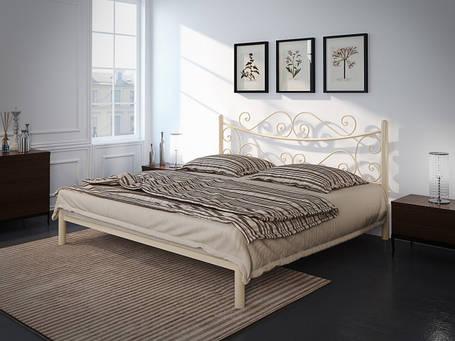 Кровать Азалия Бежевая 120*190 (Tenero TM), фото 2