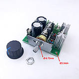 ШИМ регулятор оборотов, скорости мотора DC 12-40V 10A 13КГц PWM  ДИММЕР 12v димер, фото 2