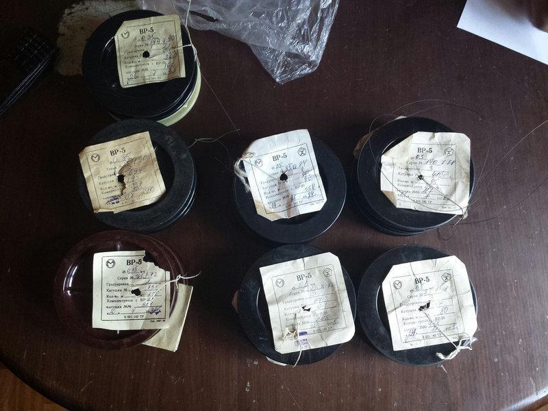 Проволока термопарная вольфрамо-рениевая ВР5/20 ф0,2мм Градуировка А1