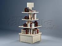 Презентационная деревянная стойка Пальмира, фото 1