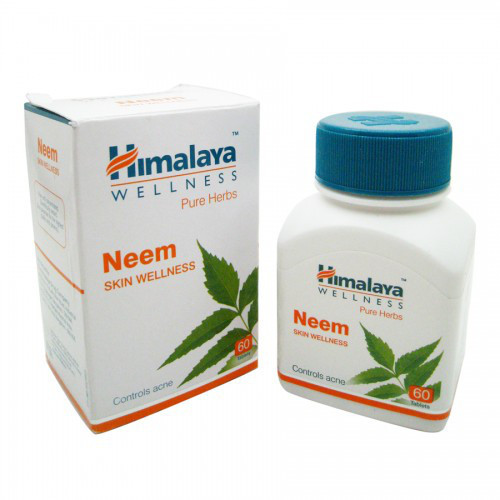 Ним, Neem, 60tab - лечение кожных заболеваний, очищение крови, устранение токсинов