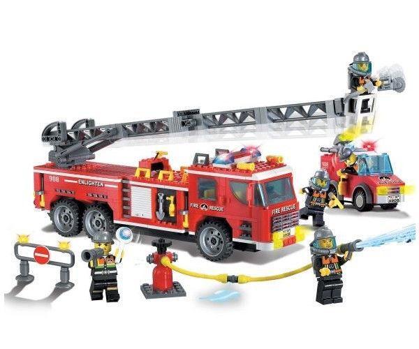 Конструктор Brick Пожарная машина