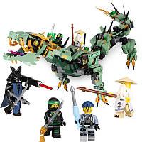 Конструктор Lepin 06051 «Механический Дракон Зелёного Ниндзя (Серия Ninjsaga )»