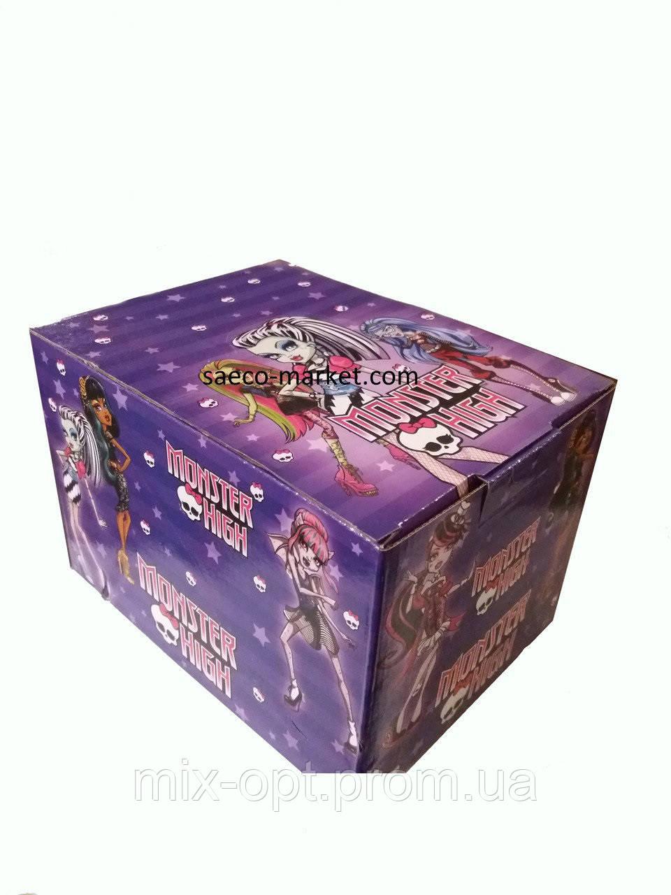 Шоколадное яйцо Monster High 25 г 24 шт (ANL)