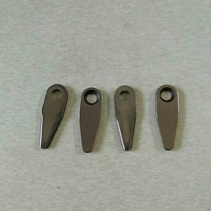 Нож режущий к-т 4 шт (форма капли), фото 2