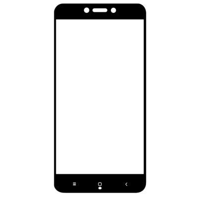 Защитное стекло Mocolo для Xiaomi Redmi 4X Full Screen 2D Glass Cover в т.у. Black