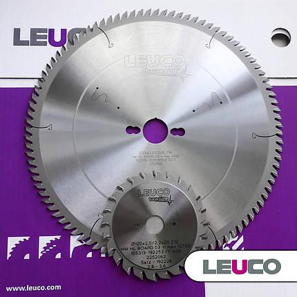 Комплект дискових пил Leuco для форматно-розкрійних верстатів (ДСП, МДФ), фото 2