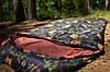 Спальный мешок (0/+8/+15) туристический для похода, для теплой погоды!, фото 3