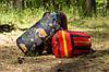 Спальный мешок (0/+8/+15) туристический для похода, для теплой погоды!