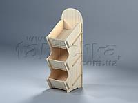 Самосборная фанерная стойка на стол Франческа, фото 1