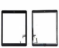 Тачскрин iPad 5 Air,iPad 9.7 2017,A1822 с кнопкой Home (Black) Original