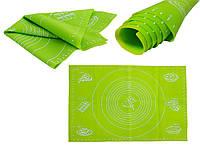 Силиконовый коврик для раскатки теста салатовый 65 х 45 Edel Hoff Swiss EH-313