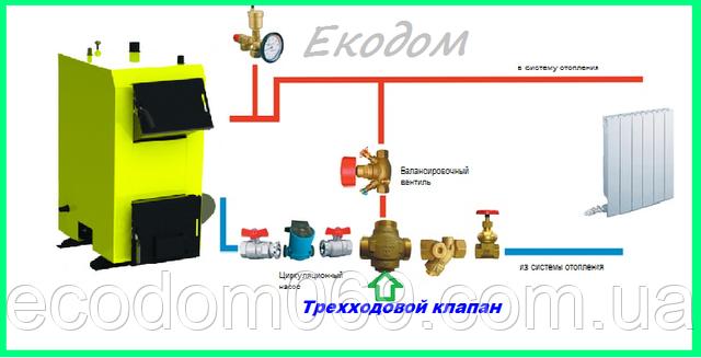 Установка трехходового клапана в систему отопления