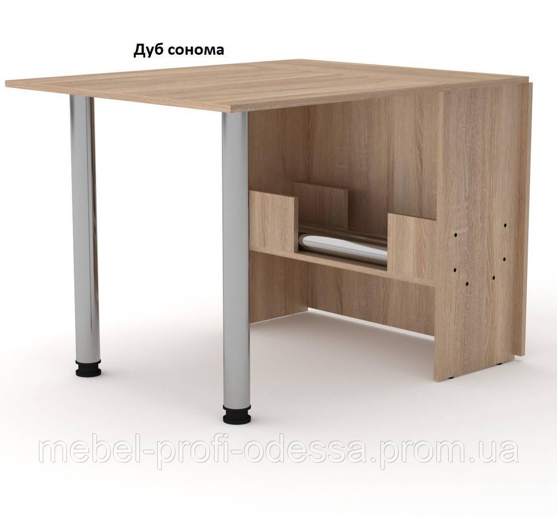 Стол книжка 2 компанит В разложенном виде 1700 мм.