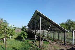 Сетевая солнечная станция 30 кВт с. Петропавловка 1