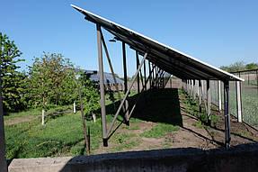 Сетевая солнечная станция 30 кВт с. Петропавловка 2