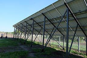 Сетевая солнечная станция 30 кВт с. Петропавловка 4
