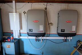 Сетевая солнечная станция 30 кВт с. Петропавловка 6