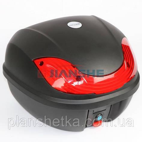 Кофр для мотоцикла багажник HF-816, фото 2