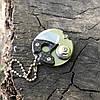 Мини нож брелочный Coin Steel Монета 440C Steel (Replica), фото 3