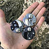 Мини нож брелочный Coin Steel Монета 440C Steel (Replica), фото 5