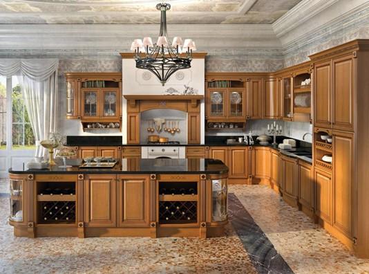 """Кухня """"Триесте"""" из массива"""