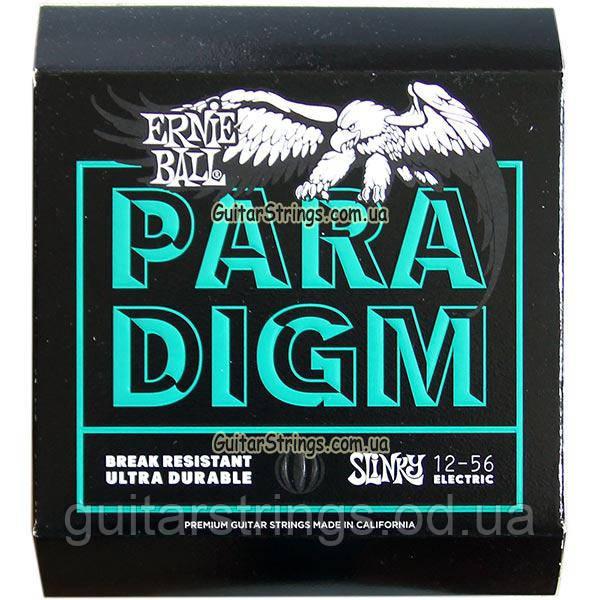 Струны Ernie Ball 2026 Paradigm Not Even Slinky Drop Tuning 12-56