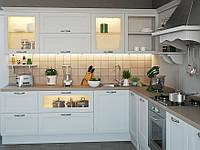 Кухня Порто Бьянко из массива, фото 1