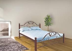 Кровать Франческа 180*200 деревянные ножки (Металл дизайн), фото 2