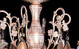 Классическая люстра с изящным резным декором, фото 4