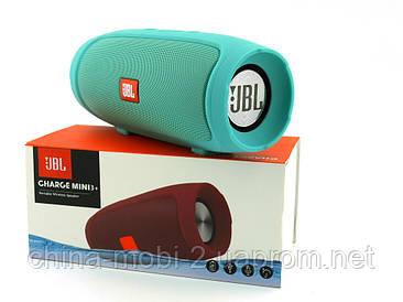 JBL Charge mini 3+ E3+ J007 6W копія, портативна колонка з Bluetooth FM MP3, м'ята