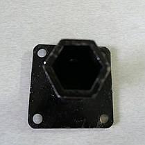 Шестигранная полуось на мотоблок Ø 23 мм GN4 длина 115 мм, фото 3