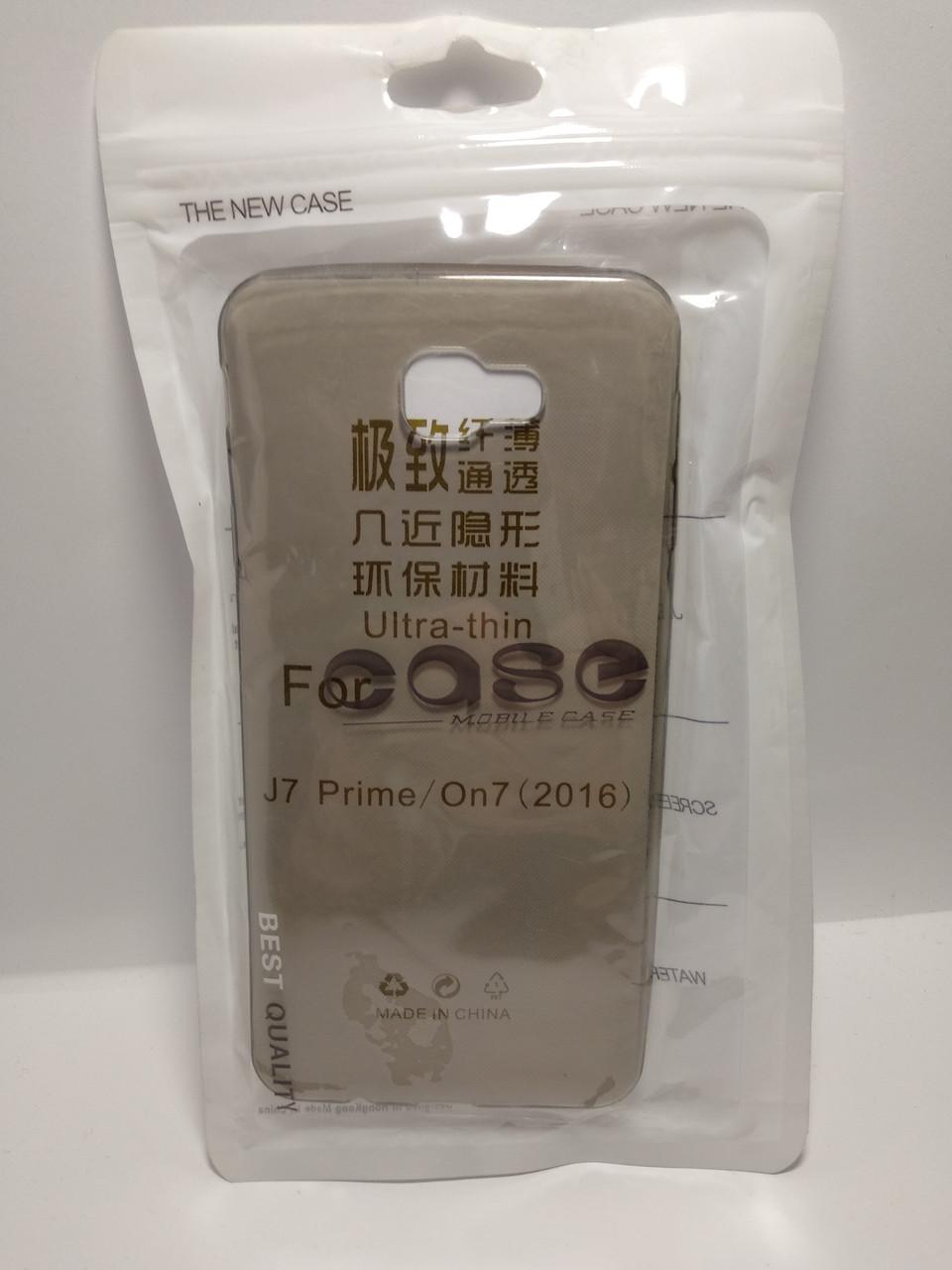 Силиконовый чехол Case Samsung Galaxy J7 Prime   On 7 (2016) затемненный