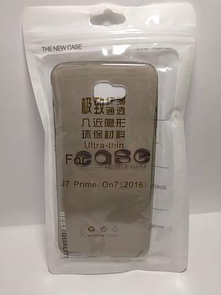 Силиконовый чехол Case Samsung Galaxy J7 Prime   On 7 (2016) затемненный, фото 2
