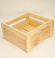 Декоративный ящик из дерева для хранения