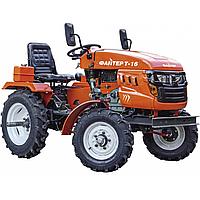 Мототрактор дизельный Файтер T-16 (16л. с., фреза 1,2 м)
